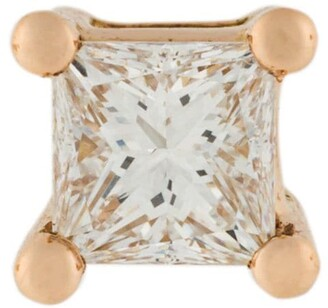 Delfina Delettrez 18kt gold Dots Solitaire diamond earring