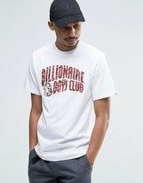 Billionaire Boys Club T-Shirt With Zebra Camo Arch Logo