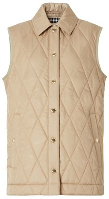 Burberry Diamond-Quilted Gilet