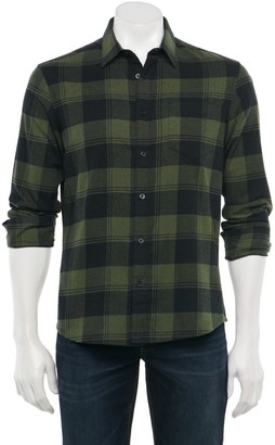 Apt. 9 Men's Untucked Seriously Soft Regular-Fit Stretch Button-Down Shirt