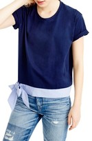 J.Crew Women's Side Tie Tee
