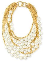 Kenneth Jay Lane Multistrand Simulated-Pearl Necklace