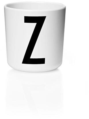 Design Letters Personal Melamine Cup - Z