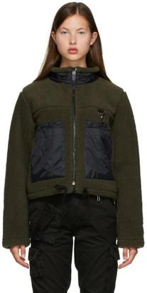 Reese Cooper Green Sherpa Jacket