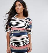 Mama Licious Mama.licious Mamalicious Stripe T-Shirt Tunic