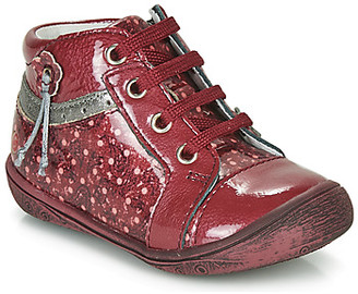 GBB NATIVA girls's Shoes (High-top Trainers) in Red