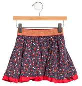 Jean Bourget Girls' Printed Flared Skirt