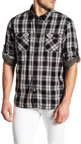 Timberland Double Layer Plaid Long Sleeve Regular Fit Shirt