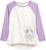 Jessica Simpson Ella Bunny-Purse T-Shirt, Big Girls (7-16)