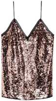 H&M Sequined Camisole Top