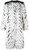 Givenchy Faux Fur Long Coat