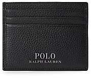 Polo Ralph Lauren Men's Signature Pebble Leather Card Case