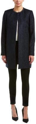 T Tahari Women's Jenna Coat in Stargazer