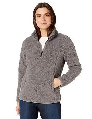 Amazon Essentials Polar Fleece Lined Sherpa Quarter-zip JacketXXL