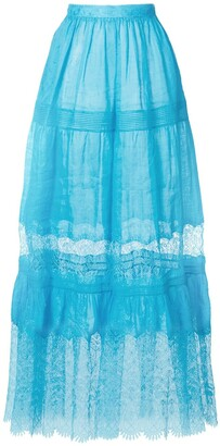 Ermanno Scervino High-Waisted Tulle Skirt
