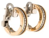 Chimento Aeternitas Diamond Hoop Earrings