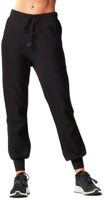 Blanc Noir Portola Banded-Hem Jogger Pants