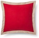 Mudhut Pillow Sham (Euro) Red