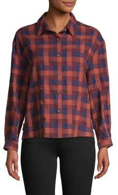 The Good Jane Cotton Checkered Shirt