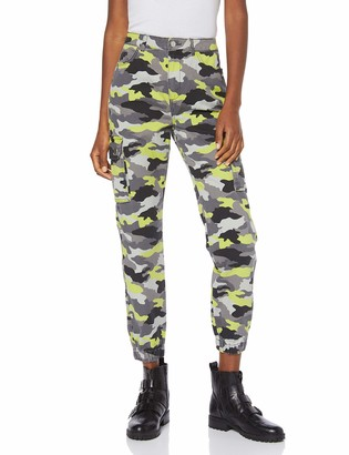 New Look Women's Camo Utility Relaxed Trousers