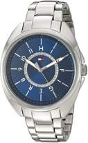 Tommy Hilfiger Women's Quartz Stainless Steel Automatic Watch, Color: Silver-Toned (Model: 1781698)