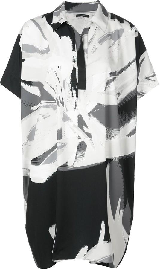 Natori printed kaftan dress