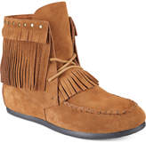Yellow Box Once Fringe Booties Women's Shoes