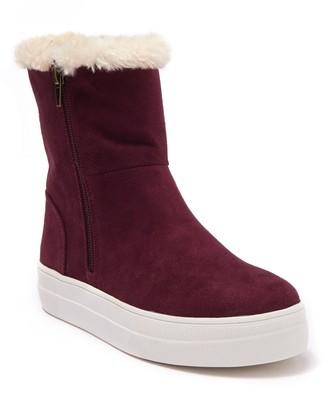 Mia Merion Faux Fur Lined Sneaker Boot