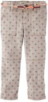 Osh Kosh Toddler Girl Skinny Field Twill Pants