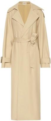 KHAITE Libby cotton twill trench coat