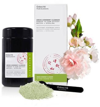 Odacité Green Ceremony Cleanser - Matcha + Spirulina