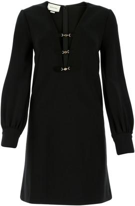 Gucci Deep V-Neck Dress