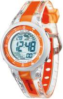 Sector R3251272915 36mm Orange Plastic Band & Case Mineral Men's Watch