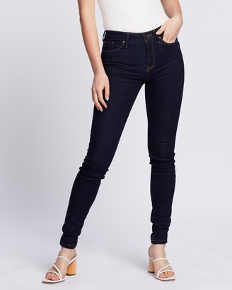 Tommy Hilfiger Women's Blue Skinny - Como Skinny Regular Waist Push Up Jeans - Size 26 at The Iconic