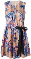 Emilio Pucci tree print dress - women - Silk - 44