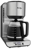 Mr. Coffee 12-Cup Stainless Steel Programmable Coffee Maker