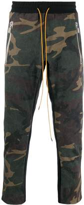 Rhude Inlay Camouflage trousers