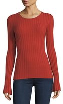 Bailey 44 Enchanted Forest Long-Sleeve Rib-Knit Sweater