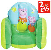 Peppa Pig Flocked Chair
