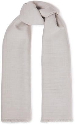 Rick Owens Silk And Wool-blend Scarf