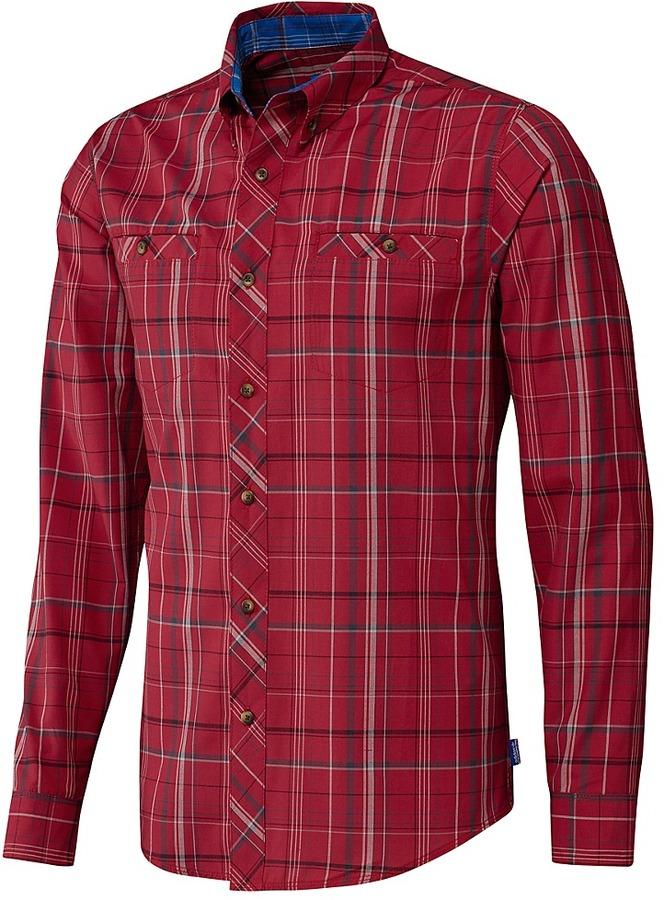 Silas Long Sleeve Plaid Shirt