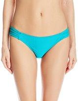 Quintsoul Women's Retro Tab-Side Midrise Bikini Bottom