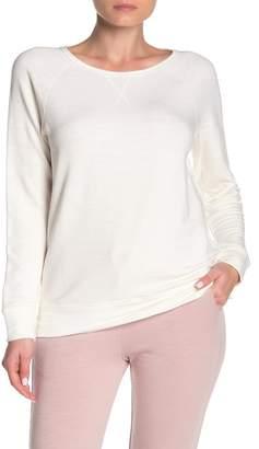 Jason Scott Wide Neck Raglan Pullover Sweatshirt