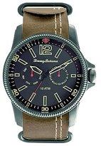 Tommy Bahama RELAX Men's 10024828 Paradise Pilot Multi- Analog Display Japanese Quartz Brown Watch