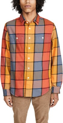 Madewell Large Scale Multicolor Plaid