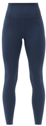 Girlfriend Collective High-rise Compression Leggings - Navy
