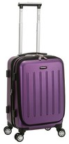 """Rockland Titan Polycarbonate Spinner Carry On - Purple (19"""")"""