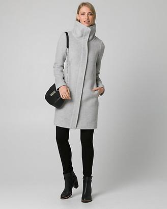Le Château Wool Blend Funnel Neck Coat