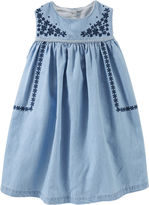 Osh Kosh Oshkosh Short Sleeve A-Line Dress - Toddler Girls