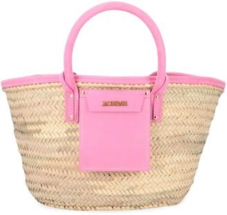Jacquemus Soleil Raffia Handbag